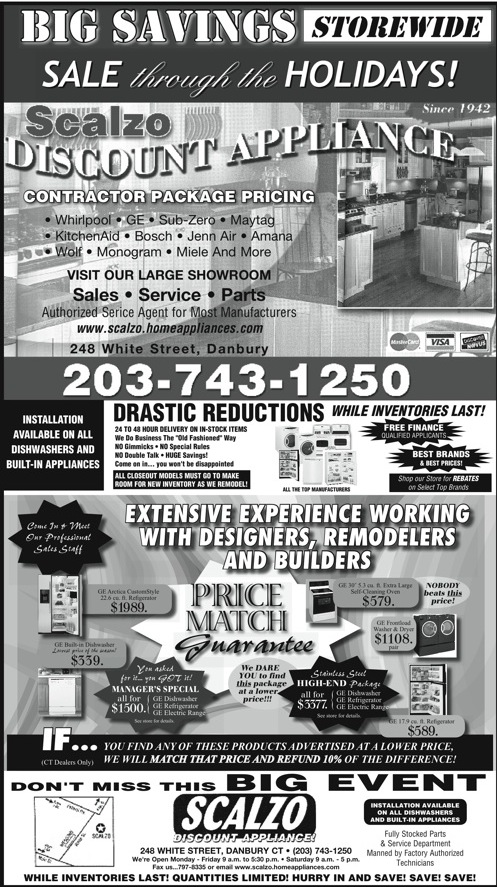 Driving Serious Newspaper Ad Sales: An appliance ad every ...