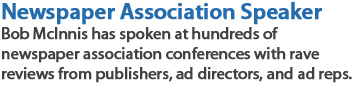 newspaper association conference speaker